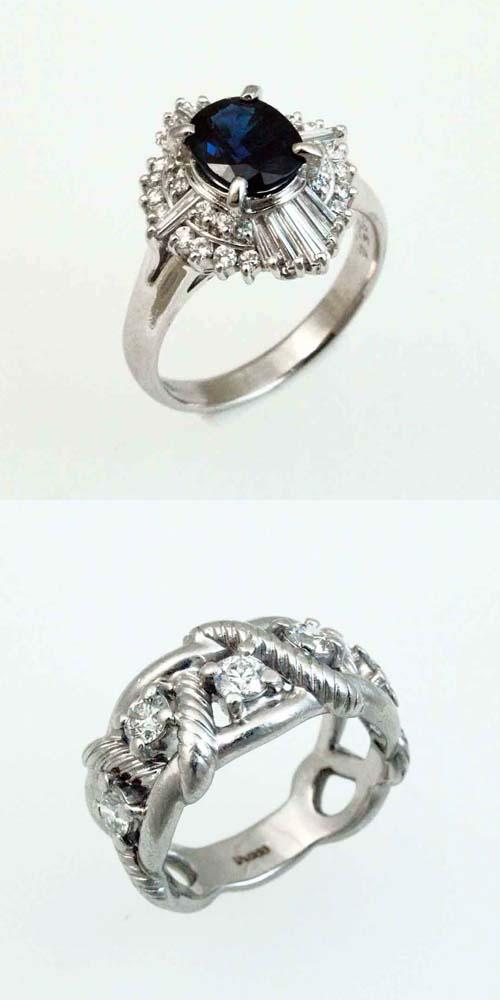 古いデザインのリング